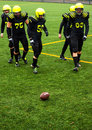 Men playing american football Royalty Free Stock Photo