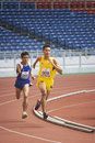 Men's 1500 Meters for Disabled Persons Royalty Free Stock Image