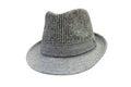 Men`s felt hat isolated on white background Royalty Free Stock Photo
