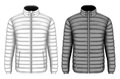 Men`s insulated down jacket