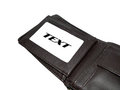 Men's Leather Wallet Royalty Free Stock Photo