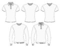 Men's polo shirt and t-shirt Stock Photo