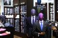 Men`s Suit Store Display