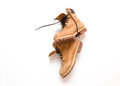 Men's Work Boots Royalty Free Stock Photo