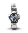 Men's wrist watch isolated Stock Image