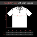 Men t-shirt polo Stock Photos