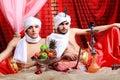 Men in turbans Royalty Free Stock Photo