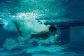 Men under water Royalty Free Stock Photo