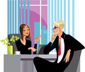 Men and woman at work, business meeting, people of work in office, personage of office staff Royalty Free Stock Photo