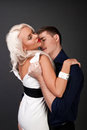 Men and women love hot love story handsome blond passionately hugging a loving relationship between a a woman passion betrayal Royalty Free Stock Image