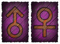 Men, women symbol
