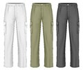 Men work trousers vector illustration Stock Photography