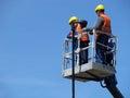 image photo : Men at work