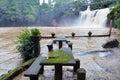 Mena Creek Falls in Paronella Park in Queenland Australia Royalty Free Stock Photo