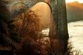 Menai Bridge Royalty Free Stock Photo