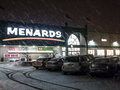 Menards Hardware store Royalty Free Stock Photography