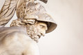 Menelaus supporting the body of patroclus roman sculpture Stock Images
