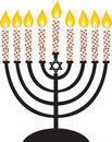 Menorah Royalty Free Stock Images