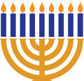 Menorah Royalty Free Stock Photos
