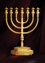 The Menorah Royalty Free Stock Photo