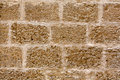 Menorca castle stonewall ashlar masonry wall texture antique in balearic islands Stock Image