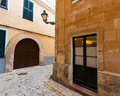 Menorca ciutadella historical downtown at balearics balearic islands Royalty Free Stock Photos