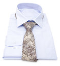 Mens blue shirt Royalty Free Stock Photo