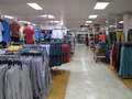 Mens clothing store. Royalty Free Stock Photo