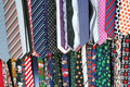 Mens Neck Ties Royalty Free Stock Photo