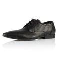 Mens shoe modern fashionable shot in studio Royalty Free Stock Photo