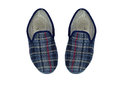 Mens Slippers Royalty Free Stock Photo