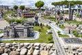 Mensen die italië mini tiny playground bezoeken Stock Afbeeldingen