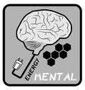 Mental energy Royalty Free Stock Photos