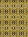 Mental feeling an extraordinary and special textile pattern for drapery sheets or wallpaper golden and warm colors Royalty Free Stock Photos
