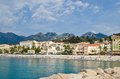 Menton cote dazur france Royalty Free Stock Photos