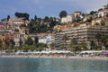Menton - Cote dAzur - South of France Stock Photo