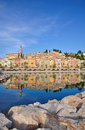 Menton,French Riviera Stock Photography