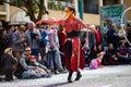 Menton Lemon Festival 2019, Street Carnaval, Fantastic Worlds Theme, artist portrait