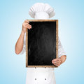 Menu chalkboard. Royalty Free Stock Photo