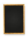 Menu chalkboard white background Stock Photos