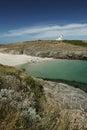 Mer del en del ile de la belleza en bretaña Imagenes de archivo