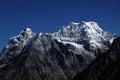 Mera Peak Seen From The Hinku ...