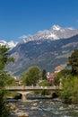 Meran, South Tyrol Royalty Free Stock Photo