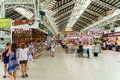 Mercado central or mercat central central market in valencia spain july from is a public located across from the llotja de Royalty Free Stock Images