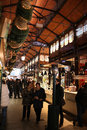Mercado de san miguel madrid spain december market on december in spain is a famous traditional Royalty Free Stock Photo