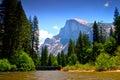 Merced River, Yosemite National Park Stock Photos