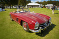 Mercedes 300SL convertible Royalty Free Stock Image