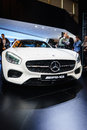 Mercedes amg gt motor show geneve at the th international geneva in palexpo switzerland photo taken on march th Stock Photography