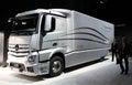 Mercedes Benz Aerodynamics Truck Stock Photos