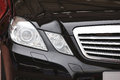 Mercedes benz car head light Foto de archivo